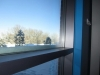 Alpenglass on a snowy day