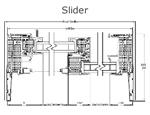 Alpen HPP Slider Fiberglass Window