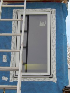 Alpen 525-S Series fiberglass windows with new Silverthorne metallic fleck paint.
